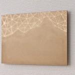 山と星/455 x 310 mm/アクリル絵の具、漆、ブロンズパウダー、MDFボード/2016年