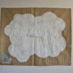 空想/166 x 134 cmぐらい/鉛筆、アクリル絵の具、クラフト紙/2010年