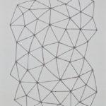 コーヒー/F15 w53 x h65.2 cm/油絵の具、アクリル絵の具、木製パネル/2017年