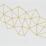 カリフラワー/F4 w33.3 x h24.2 cm/油絵の具、アクリル絵の具、木製パネル/2017年
