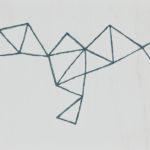 青緑/F4 w33.3 x h24.2 cm/油絵の具、アクリル絵の具、木製パネル/2017年
