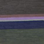 シマシマ02/F4 w33.3 x h24.2 cm/油絵の具、キャンバス/2017年