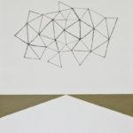 A Figment of Imagination/F50 w91 x h116.7 cm/漆、油絵の具、キャンバス/2016年