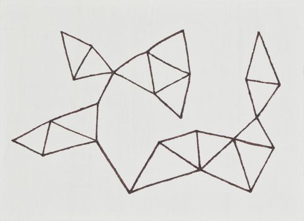小豆色/F4 w33.3 x h24.2 cm/油絵の具、アクリル絵の具、木製パネル/2017年