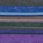 シマシマ05/F10 w53 x h45.5 cm/油絵の具、キャンバス/2018年