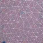 星空/M40 w65.2 x h100 cm/アクリル絵の具、キャンバス/2007年