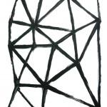 無題/w42 x h59.4 cm/アクリル絵の具、MDFボード/2008年
