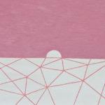 夕日/F10 w53 x h45.5 cm/油絵の具、アクリル絵の具、木製パネル/2017年