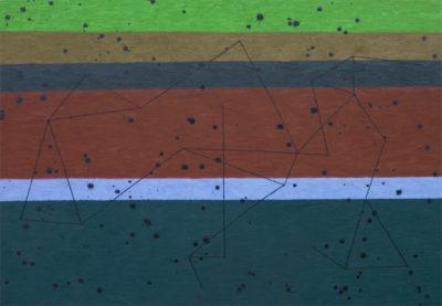 性質は景色を見る/P100 w1620 x h1120 cm/油絵の具、ペンキ、キャンバス/2020年