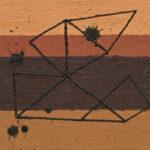 パーツ/P3 w27.3 x h19 cm/油絵の具、ペンキ、キャンバス/2020年